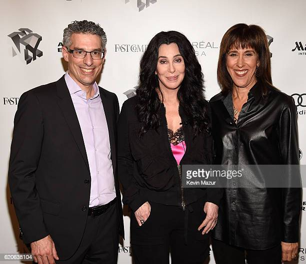 Editor and Managing Director of Fast Company Robert Safian Singer and Actress Cher and Director of the Center for Integrated Design at the University...