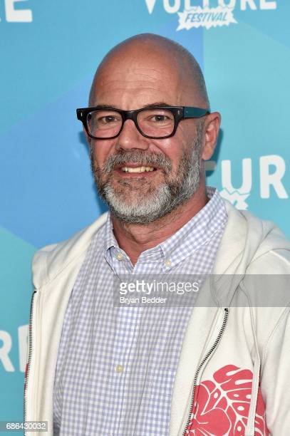 Editor Andrew Sullivan attends the Black Mirror panel during the 2017 Vulture Festival at Milk Studios on May 21 2017 in New York City