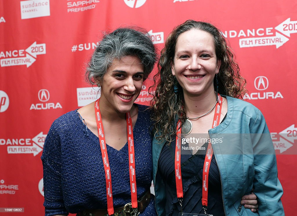 Editor Anoosh Tertzakian and director Nina Krstic attends the '99% - The Occupy Wall Street Collaborative Film' premiere at Egyptian Theatre during the 2013 Sundance Film Festival on January 20, 2013 in Park City, Utah.