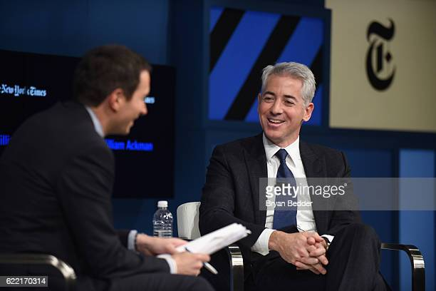 Editor at Large and Columnist for The New York Times Andrew Ross Sorkin and CEO and Portfolio Manager Pershing Square Capital Management LP William...
