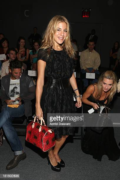 Editor at large for Nylon magazine Dani Stahl attends the Ruffian Spring 2013 fashion show during MercedesBenz Fashion Week at The Studio Lincoln...