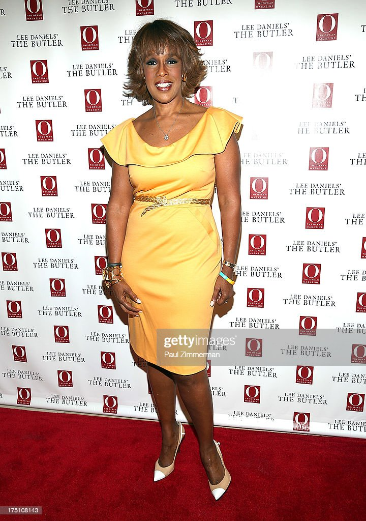 Editor at Large, O Magazine Gayle King attends the Lee Daniels' 'The Butler' Special Screening at Hearst Tower on July 31, 2013 in New York City.