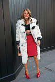 Editor at large of Vogue Japan Anna Dello Russo on day 9 of Paris Collections Women on March 11 2015 in Paris France