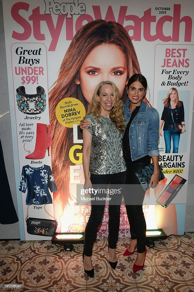 Editor at People StyleWatch Susan Kaufman and actress <a gi-track='captionPersonalityLinkClicked' href=/galleries/search?phrase=Nikki+Reed&family=editorial&specificpeople=220844 ng-click='$event.stopPropagation()'>Nikki Reed</a> attend People StyleWatch Denim Awards presented by GILT at Palihouse on September 19, 2013 in West Hollywood, California.