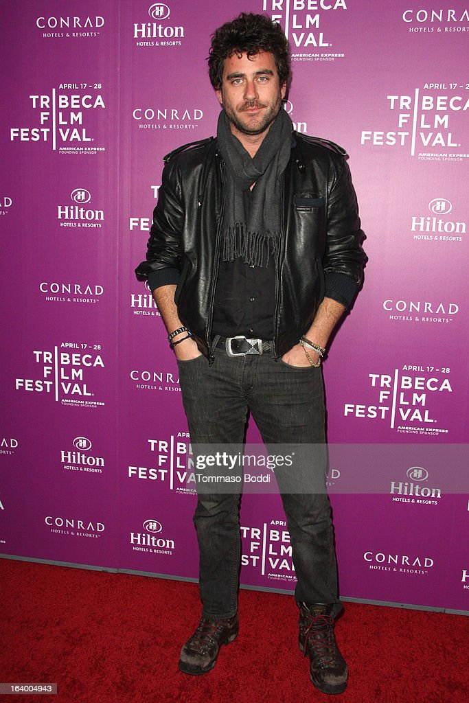 Editor Bryn Mooser attends the 5th annual Tribeca Film Festival 2013 LA reception held at The Beverly Hilton Hotel on March 18, 2013 in Beverly Hills, California.