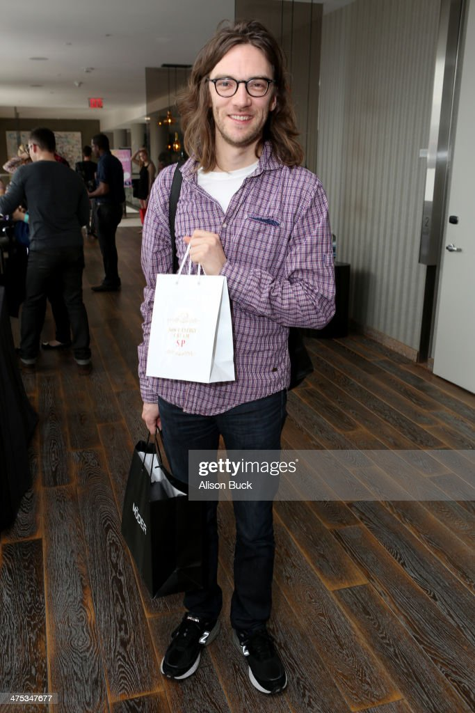 Editor Crispin Struthers attends Kari Feinstein's Pre-Academy Awards Style Lounge at the Andaz West Hollywood on February 27, 2014 in Los Angeles, California.