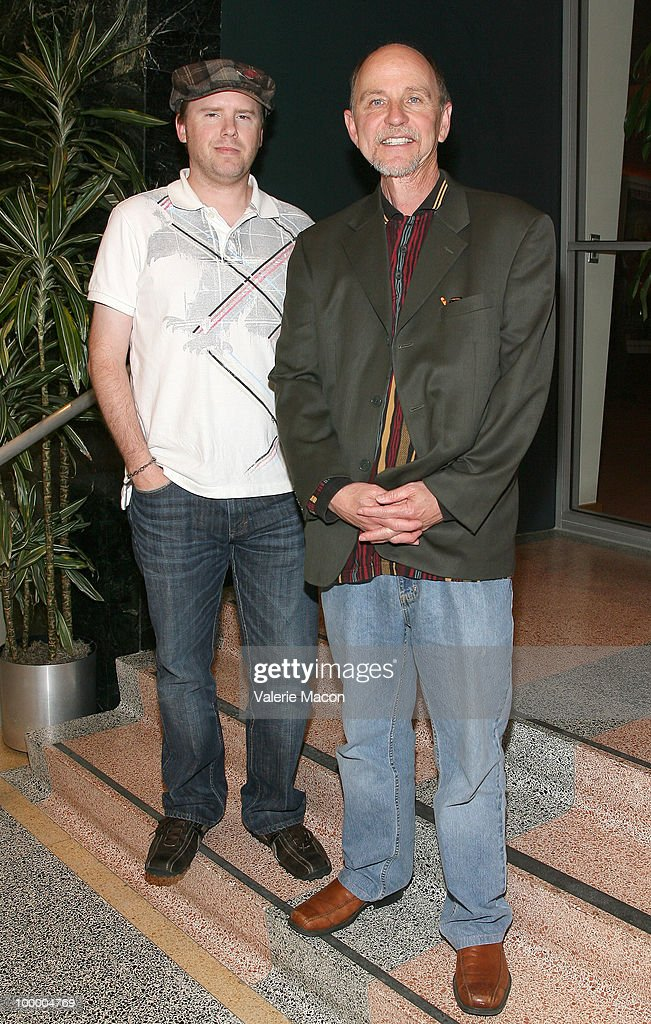 Editor Dan Wolfmeyer (L) and producer Bill Brummel (R) attend AMPAS' 28th Annual 'Contemporary Documentaries' Series Continues on May 19, 2010 in Hollywood, California.