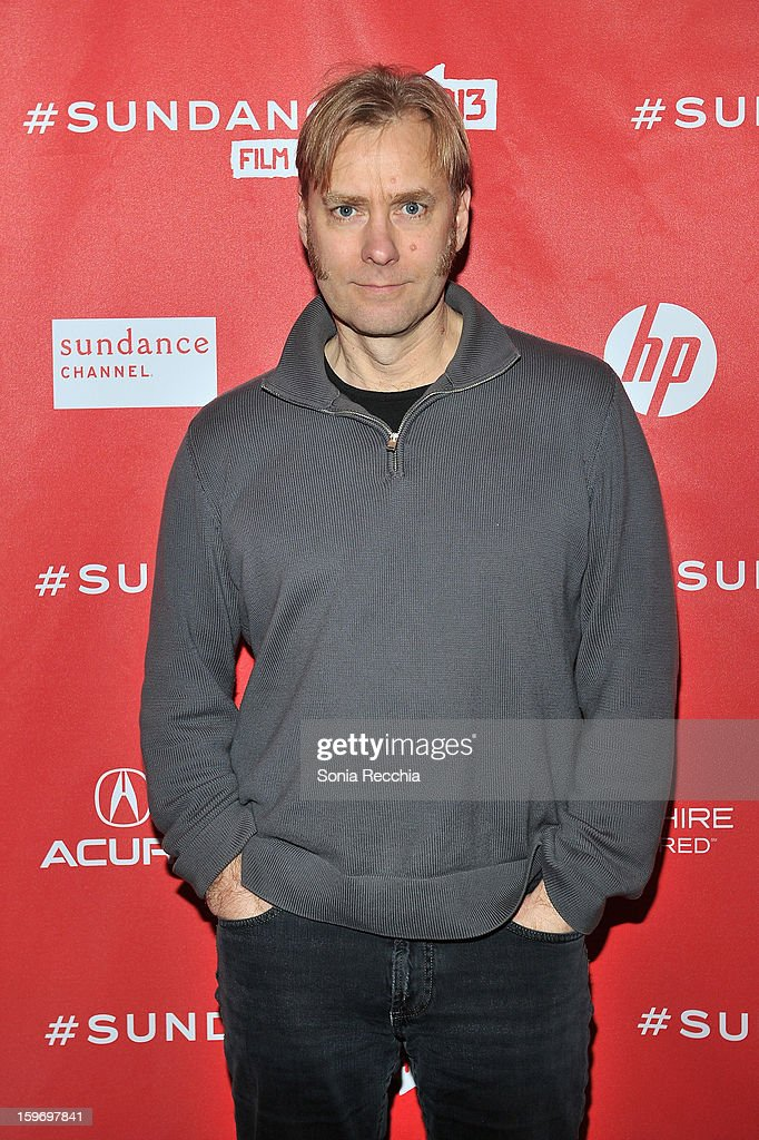 Editor Don Kleszy attends the 'Pandora's Promise' premiere at Prospector Square during the 2013 Sundance Film Festival on January 18, 2013 in Park City, Utah.