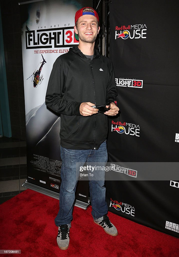 Editor Greg Wheeler attends The Art of Flight 3D - Los Angeles screening at AMC Criterion 6 on November 29, 2012 in Santa Monica, California.