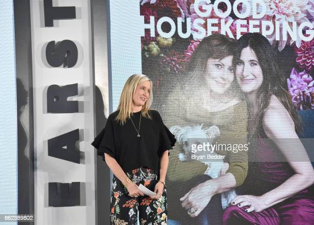 Editor in Chief Good Housekeeping Jane Francisco speaks onstage at Hearst Magazines' Unbound Access MagFront at Hearst Tower on October 17 2017 in...