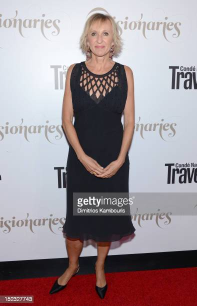 Editor in Chief Klara Glowczewska attends the Conde Nast Traveler Celebration of 'The Visionaries' and 25 Years of Truth In Travel at Alice Tully...
