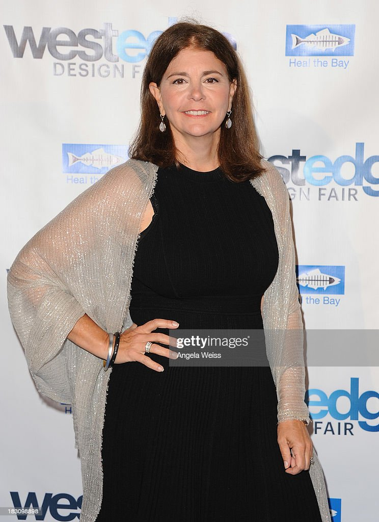 Editor in Chief of Coastal Living Antonia van der Meer attends the WestEdge Design Fair opening night benefiting Heal the Bay at Barker Hangar on October 3, 2013 in Santa Monica, California.