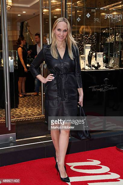 Editor in chief of GALA Anne MeyerMinnemann attends the Thomas Sabo grand flagship store opening on September 24 2015 in Hamburg Germany