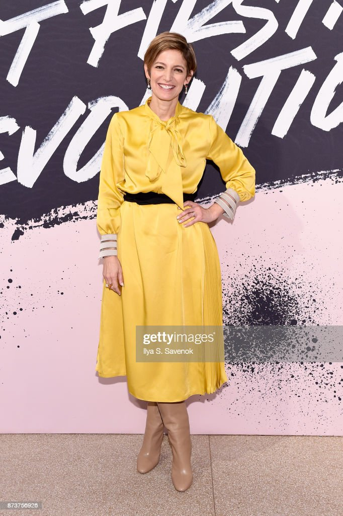Editor in Chief of Glamour magazine Cindi Leive poses during Glamour Celebrates 2017 Women Of The Year Live Summit at Brooklyn Museum on November 13, 2017 in New York City.