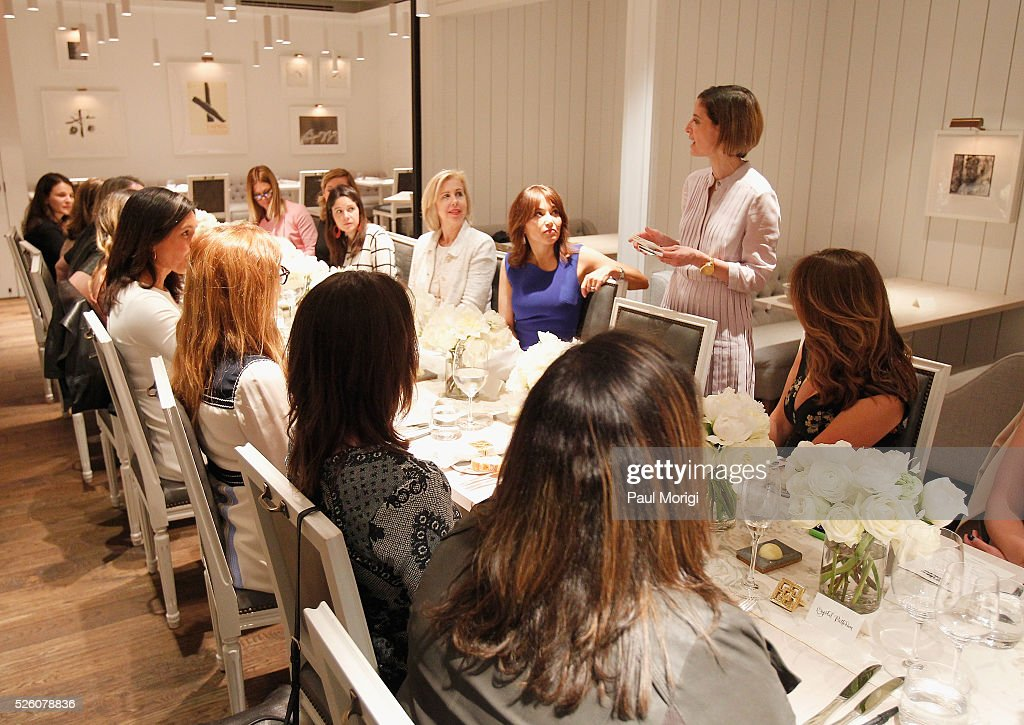 Editor in Chief of Glamour magazine, Cindi Leive speaks at the Glamour and Facebook brunch to discuss sexism in 2016, during WHCD Weekend at Kinship on April 29, 2016 in Washington, DC.