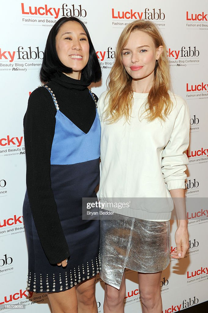 Editor in Chief of Lucky, Eva Chen and <a gi-track='captionPersonalityLinkClicked' href=/galleries/search?phrase=Kate+Bosworth&family=editorial&specificpeople=201616 ng-click='$event.stopPropagation()'>Kate Bosworth</a> attend Lucky Magazine's Two-Day East Coast
