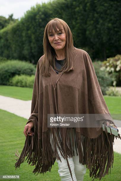 Editor in Chief of Numero magazine Babette Djian day 2 of Paris Haute Couture Fashion Week Autumn/Winter 2014 on July 7 2014 in Paris France