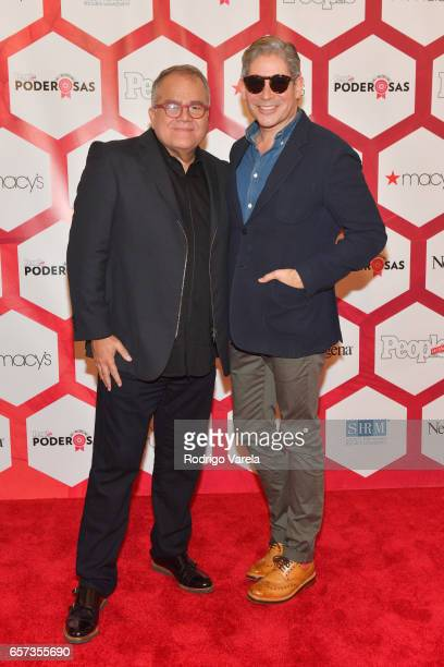 Editor in Chief of People en Espanol Armando Correa and Boris Izaguirre attend People En Espanol's 25 Most Powerful Women Luncheon 2017 at Hyatt...