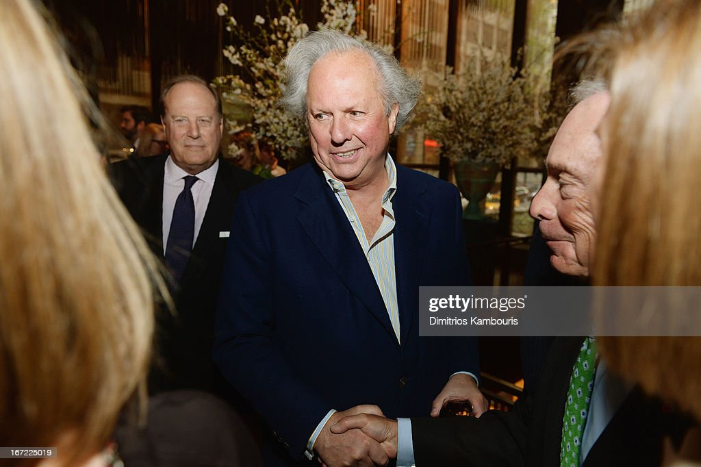 Editor in Chief of Vanity Fair Graydon Carter (C) attends the Conde Nast Celebrates Editorial Excellence: Toast To Editors, Writers And Contributors on April 22, 2013 in New York City.