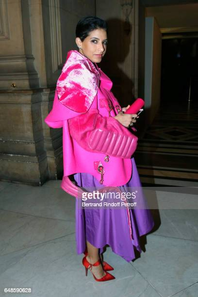 Editor in Chief of Vogue Arabia Princess Deena Aljuhani Abdulaziz attends the Stella McCartney show as part of the Paris Fashion Week Womenswear...