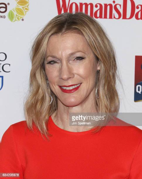 Editor in chief of Woman's Day Susan Spencer attends the 14th annual Woman's Day Red Dress Awards at Jazz at Lincoln Center on February 7 2017 in New...