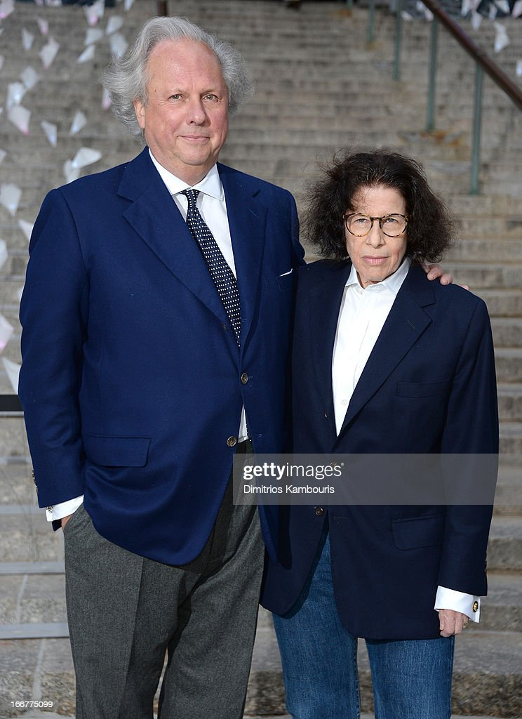 Editor in Chief Vanity Fair Magazine Graydon Carter and author Fran Lebowitz attend Vanity Fair Party for the 2013 Tribeca Film Festival on April 16, 2013 in New York City.