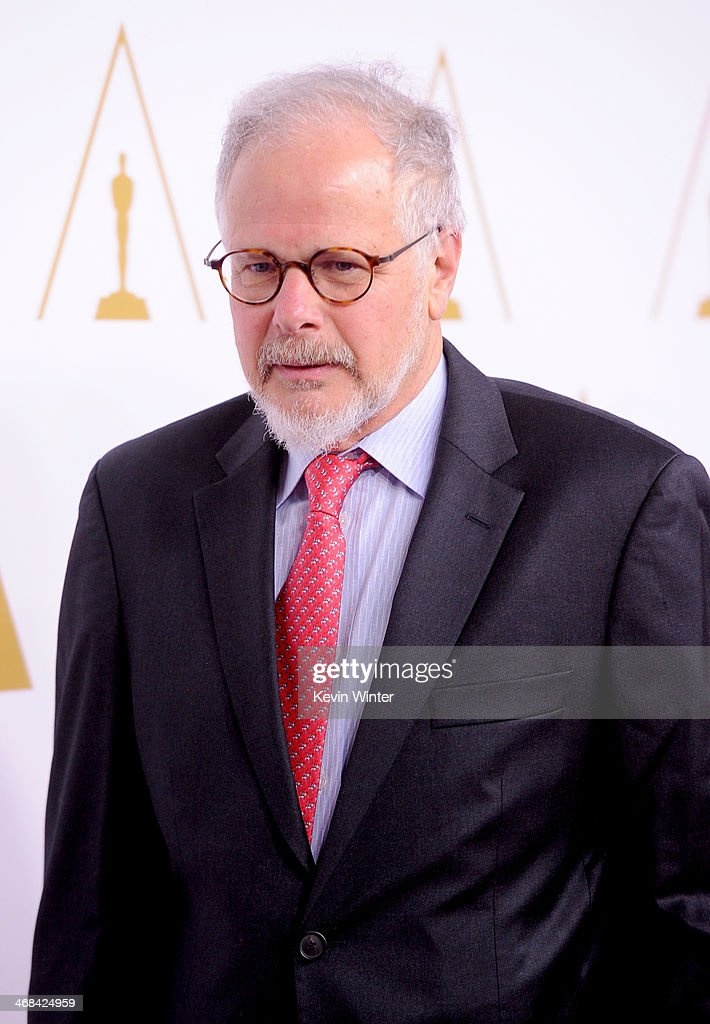 Editor Jay Cassidy attends the 86th Academy Awards nominee luncheon at The Beverly Hilton Hotel on February 10 2014 in Beverly Hills California
