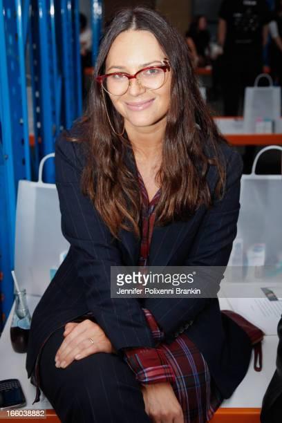 Editor Jess Blanch attends the Christopher Esber show during MercedesBenz Fashion Week Australia Spring/Summer 2013/14 at 10 Carrington Rd...