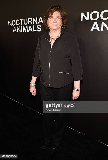Editor Joan Sobel attends the New York Premiere of Tom Ford's 'Nocturnal Animals' at The Paris Theatre on November 17 2016 in New York City