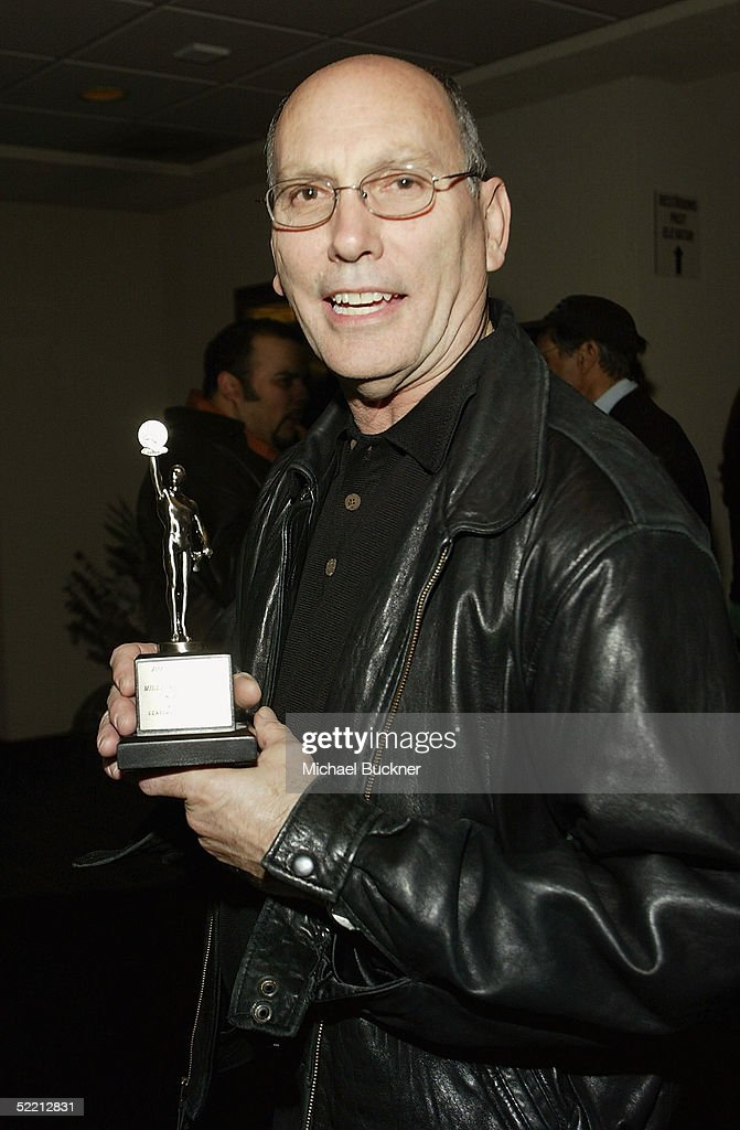 Editor Joel Cox, the nomination for Best Edited Feature Film (Dramatic) for 'Million Dollar Baby', attends the nominee reception for the American Cinema Editors Eddie Awards on February 17, 2005 at the Kodak Atrium in Hollywood, California.