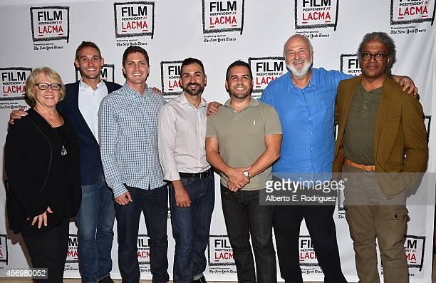 Editor Kate Amend director/writer Ryan White director/writer Ben Cotner Paul Katami Jeff Zarillo director Rob Reiner and moderator Elvis Mitchell...