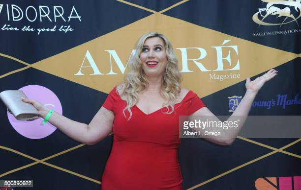 Editor Leah Bergman attends the Amare Magazine 1st Year Anniversary Issue Release Soiree held at a Private Residence on June 24 2017 in Sherman Oaks...