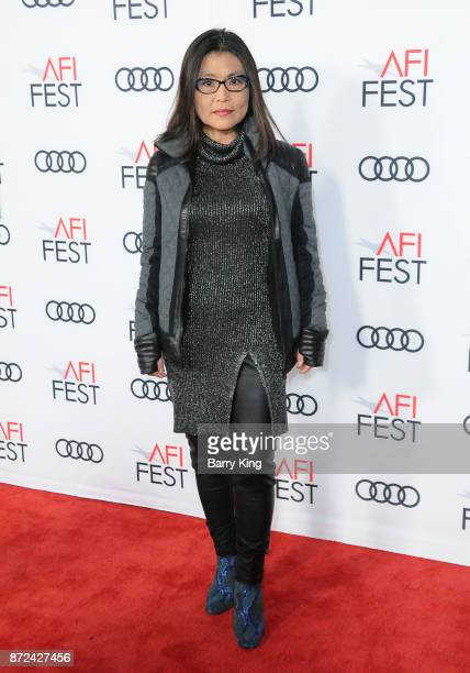 Editor Mako Kamitsuna attends AFI FEST 2017 Presented by Audi Opening Night Gala Screening Of Netflix's 'Mudbound' at TCL Chinese Theatre on November...