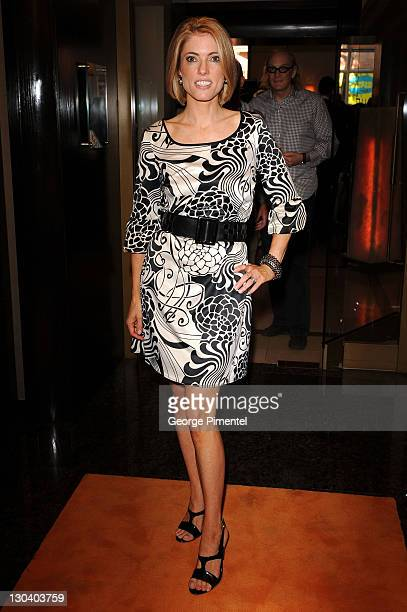 Editor of Hello Canada Magazine Ciara Hunt attends the 2009 George Christie Party held at Avenue Lounge Four Seasons Hotel during 2009 Toronto...