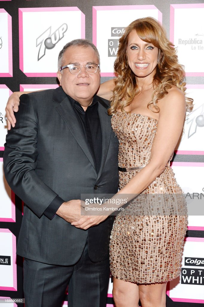 Editor of People en Espanol Armando Correa and TV personality <a gi-track='captionPersonalityLinkClicked' href=/galleries/search?phrase=Lili+Estefan&family=editorial&specificpeople=751373 ng-click='$event.stopPropagation()'>Lili Estefan</a> attend People En Espanol's 50 Most Beautiful 2013 at Marquee on May 13, 2013 in New York City.