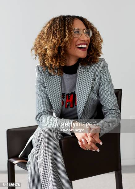 Editor of Teen Vogue Elaine Welteroth is photographed for The Guardian Magazine on February 6 2017 in New York City PUBLISHED IMAGE ON EMBARGO UNTIL...