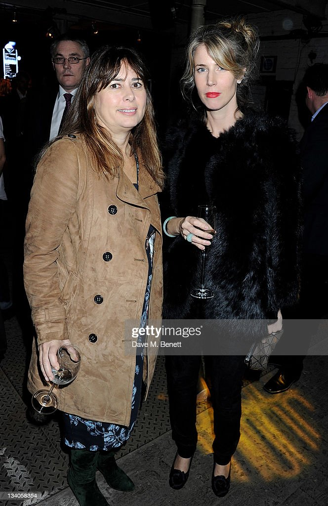 Editor of UK Vogue <a gi-track='captionPersonalityLinkClicked' href=/galleries/search?phrase=Alexandra+Shulman&family=editorial&specificpeople=215527 ng-click='$event.stopPropagation()'>Alexandra Shulman</a> (L) and guest attend the launch of the Vertu Constellation, the luxury mobile phone maker's first touchscreen handset, at the Farmiloe Building on November 24, 2011 in London, England.