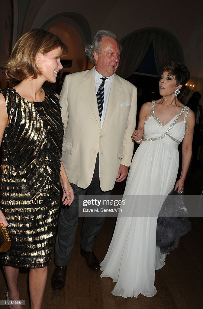 Editor of Vanity Fair Graydon Carter and wife Anna Scott Carter attends the Vanity Fair And Gucci Party during the 65th Annual Cannes Film Festival at Hotel Du Cap on May 19, 2012 in Antibes, France.