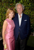 Editor of Vanity Fair Graydon Carter Anna Scott Carter attend Vanity Fair and Chrysler Toast American Hustle during Vanity Fair Campaign Hollywood at...