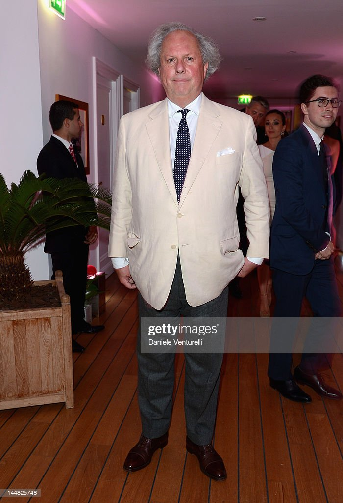 Editor of Vanity Fair Graydon Carter attends the Vanity Fair and Gucci Party at Hotel Du Cap during 65th Annual Cannes Film Festival on May 19, 2012 in Antibes, France.