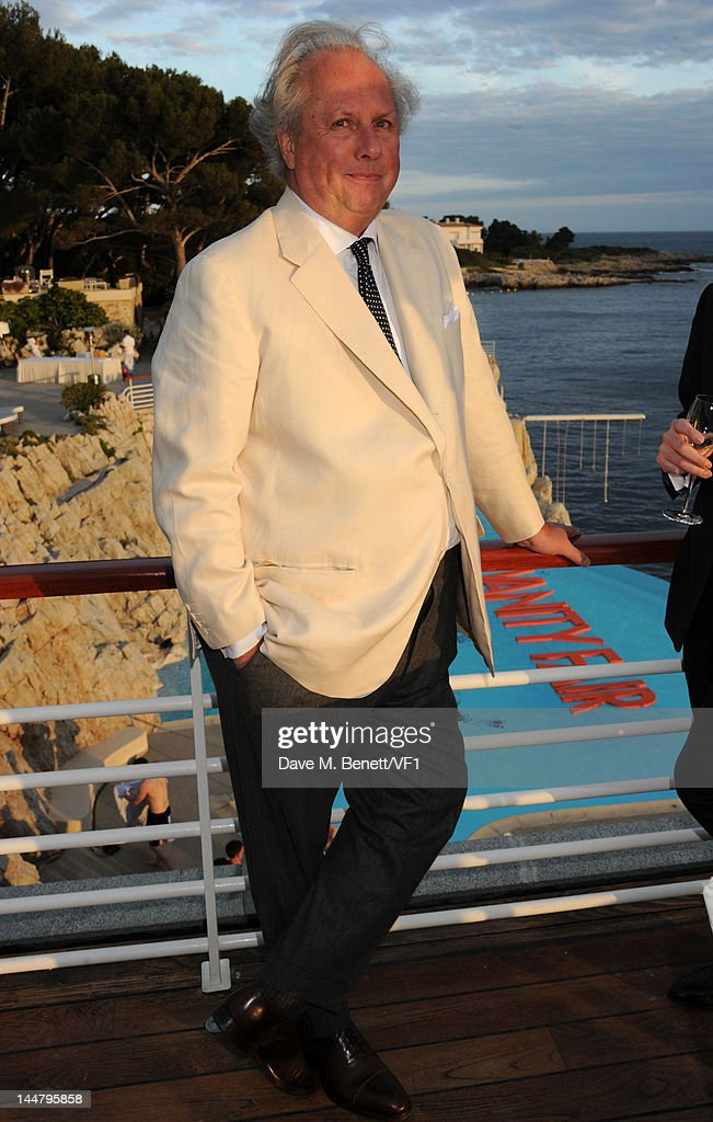 Editor of Vanity Fair Graydon Carter attends the Vanity Fair And Gucci Party during the 65th Annual Cannes Film Festival at Hotel Du Cap on May 19, 2012 in Antibes, France.