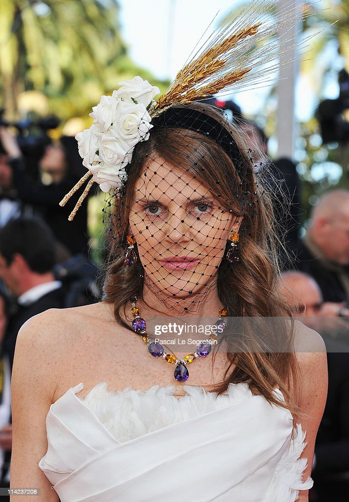 Editor of Vogue Japan Anna Dello Russo attends 'The Tree Of Life' premiere during the 64th Annual Cannes Film Festival at Palais des Festivals on May 16, 2011 in Cannes, France.