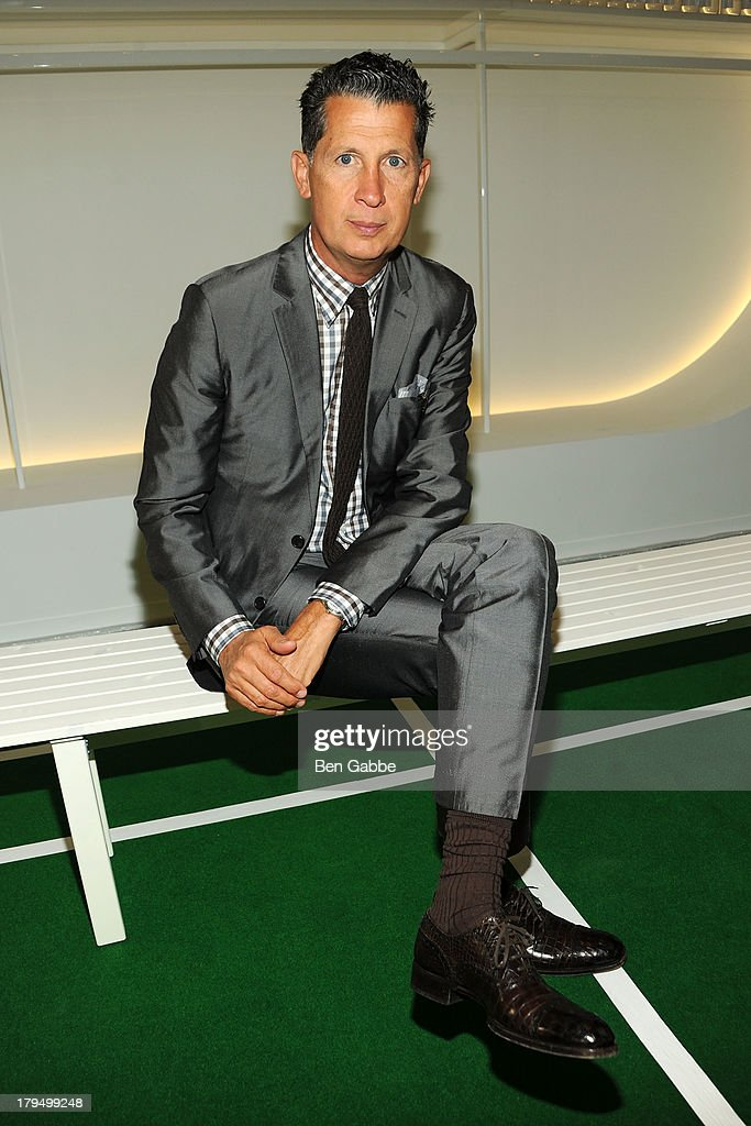 Editor of W magazine <a gi-track='captionPersonalityLinkClicked' href=/galleries/search?phrase=Stefano+Tonchi&family=editorial&specificpeople=2497117 ng-click='$event.stopPropagation()'>Stefano Tonchi</a> attends the Lisa Perry presentation during Mercedes-Benz Fashion Week Spring 2014 on September 4, 2013 in New York City.