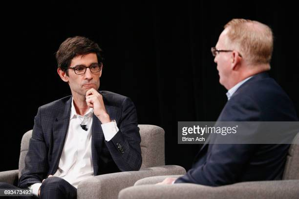 Editor of WIRED Nicholas Thompson interviews SVP of Devices at Amazon David Limp onstage at WIRED Business Conference Presented By Visa At Spring...