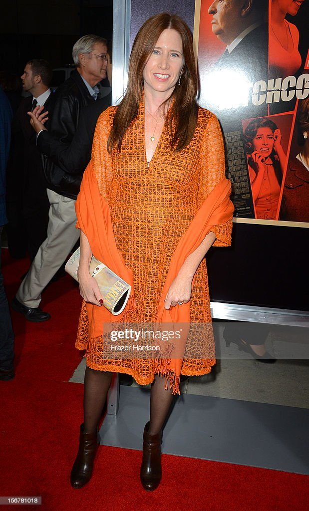 Editor Pamela Martin arrives at the Premiere Of Fox Searchlight Pictures' 'Hitchcock' at AMPAS Samuel Goldwyn Theater on November 20, 2012 in Beverly Hills, California.