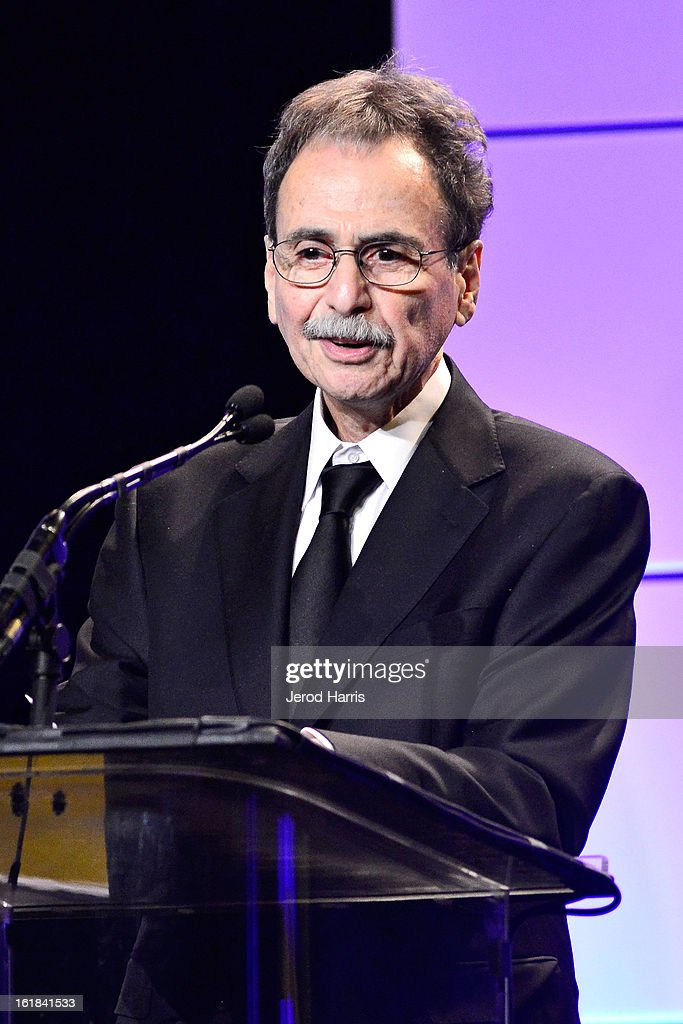 Editor Richard Marks, A.C.E. receives the Career Achievement Award during the 63rd Annual ACE Eddie Awards held at The Beverly Hilton Hotel on February 16, 2013 in Beverly Hills, California.