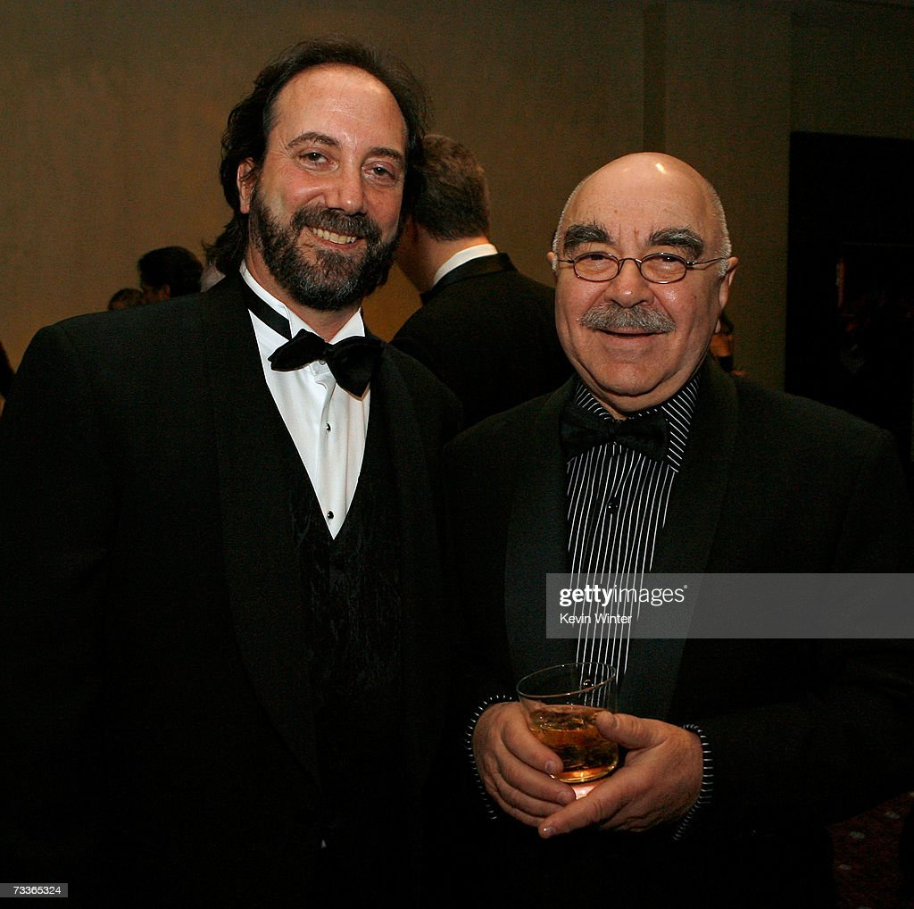 Editor Stephen Rivkin and American Cinema Editors President Alan Heim attend the 57th annual ACE Eddie Awards cocktail reception held at the Beverly...