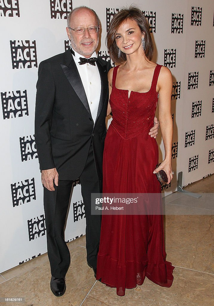 Editor Stuart Baird, A.C.E. and wife arrive at the 63rd Annual ACE Eddie Awards held at The Beverly Hilton Hotel on February 16, 2013 in Beverly Hills, California.