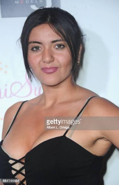 Editor Svetlana Arzumanyan of German World Bilingual Magazine at Sai Suman's Official Hollywood Runway Fashion Show held at Sofitel Hotel on April 11...