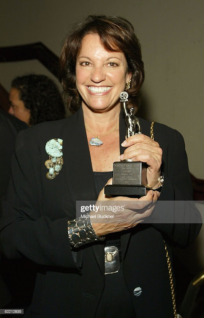 Editor Virginia Katz holds the nomination for Best Edited Feature Film (Dramatic) for 'Kinsey' at the nominee reception for the American Cinema Editors Eddie Awards on February 17, 2005 at the Kodak Atrium in Hollywood, California.